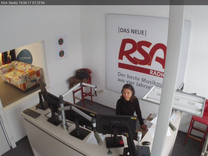 Webcam Radio RSA Allgäu Studio Kempten